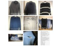 12 items of men's clothing