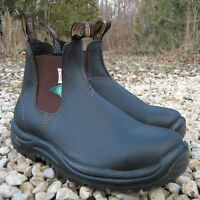 Blundstones - Safety Shoe - Green Patch