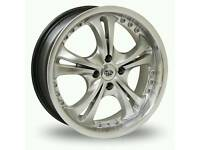 18 inch alloy wheels incudes tyres