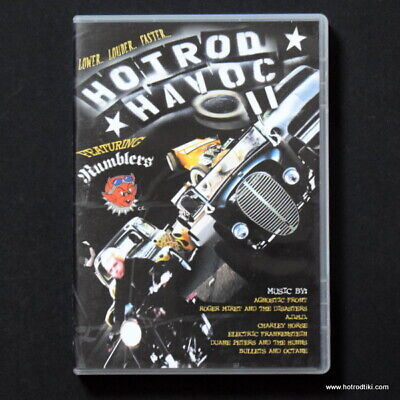 Hotrod Havoc 2 DVD, Hotrods, Choppers Flatheads Custom American Rat Rods Bikes