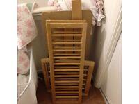 Mothercare swinging cot needs screws