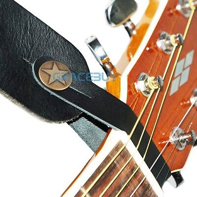 Genuine Leather  Guitar Strap Button for Acoustic / Folk / C