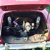 Karmann Ghia willing to sell or trade on Westfalia