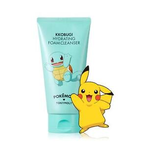 US-SELLER-TONYMOLY-X-POKEMON-Squirtle-Hydrating-Foam-Cleanser-150ml