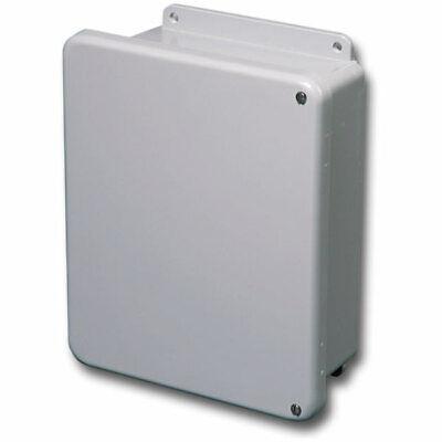 Stahlin Electrical Fiberglass Enclosurebox J1412hw Jic 4x 14x12x6 Fg Hw