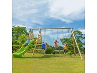 Kids garden playframe