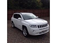 2012 JEEP COMPASS 2.4 LIMITED CVT AUTOMATIC 4x4 low mileage FULLY LOADED Px welcome