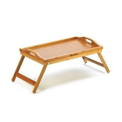Mesa Bandeja Plegable Madera Bambú 50 X 30 cm Para Cama Desayuno...