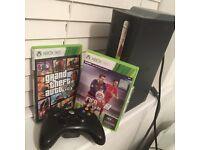 Xbox 360 Elite Bundle - 1 Controller - 1 Hard drive - GTA 5 - FIFA 16 (