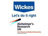 Raising money for Alzheimer's Research UK