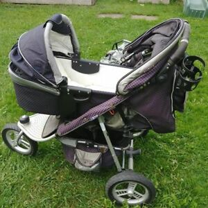 ValcoBaby Tri-Mode Runabout Jogging Stroller, with extras