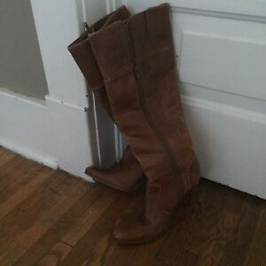 Real Leather Aldo Boots