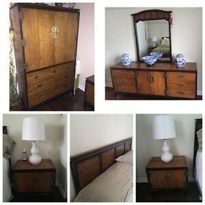 Lane Solid Wood Bedroom Set