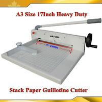 17inch A3 Size Heavy Duty Paper Cutter Guillotine Trimmer026412