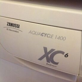 Zanussi Aquacycle - 6kg washing machine