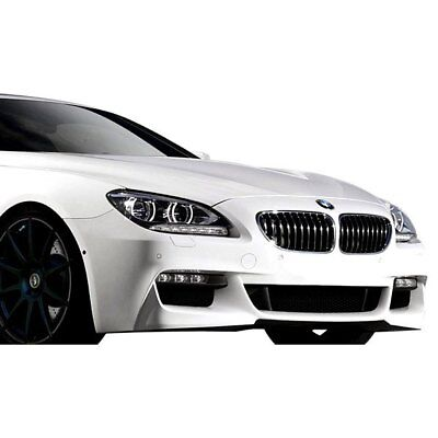 For BMW M6 Gran Coupe 14-19 Front Bumper Cover M Sport Style Fiberglass Front