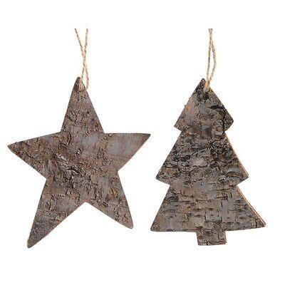 ALBERO E STELLA DA APPENDERE Addobbi Natalizi Decorazioni Albero Natale 552138