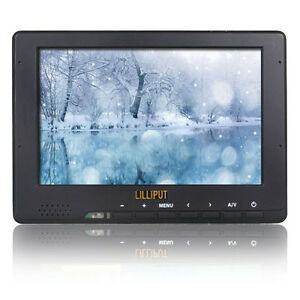 Lilliput 667gl 7 Inch On-camera Hd Lcd Field Monitor w/ Hdmi Component Composite