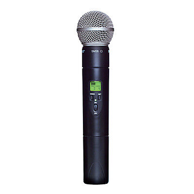Shure ULX2/58-G3 UHF Handheld Wireless Transmitter with SM58 Cardioid Microphone