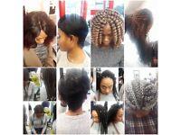 Afro Caribbean hair