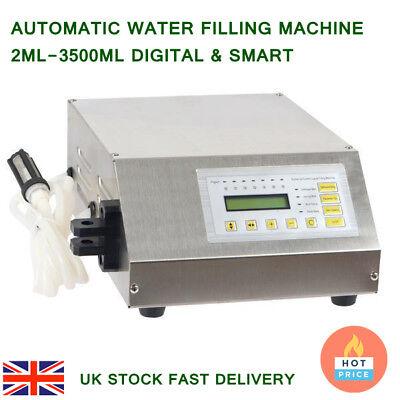Automatic Water Liquid Filling Machine Digital Control Pump Filler 2ml-3500ml