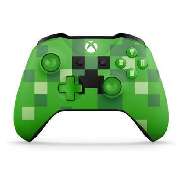 Microsoft Xbox Wireless Controller Minecraft Creeper WL3-00056