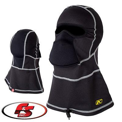 Klim Glacier Balaclava Black 3089-000-000-000 Snowmobile Mask Gore Windstopper