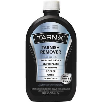 Tarn-X Tarnish Remover Sterling Silver Plate Platinum Copper Gold Diamond Metal