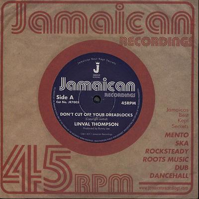 "Linval Thompson – Don't Cut Off Your Dreadlocks LTD 7"" NEW £4.99"