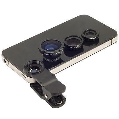 Praktische Fotohilfe, das anklemmbare Objektiv
