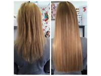 Starting from £190 -Keratin Bonds,Micro Rings,Nano Ring-100%Remy/Brazilian Hair Extensions-Cut&Blend