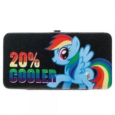 My Little Pony 20% Cooler Rainbow Dash Checkbook Wallet Anime Licensed NEW (20 Cooler Rainbow Dash)