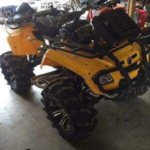 Parting out Can-am 800 Outlander