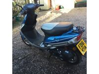 Lexmoto scout 49 6 months old reduced £275