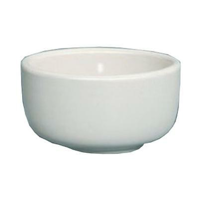 Yanco Re 95  9 5 Oz Round Recovery Jung Bowl  Rolled Edge  American White China