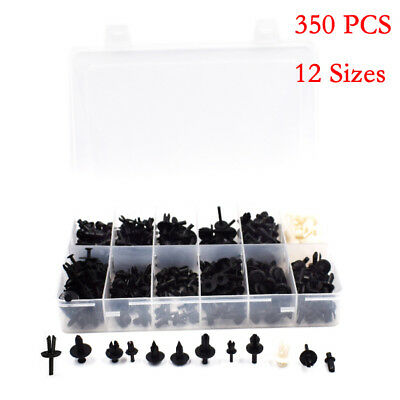 350PCS Car Auto Push Retainer Pin Rivet Trim Clip Panel Moulding Parts