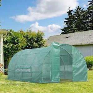 Extra Large Walk-in Greenhouse Steel Frame PE Cover / Greenhouse for sale brand new direct from factory