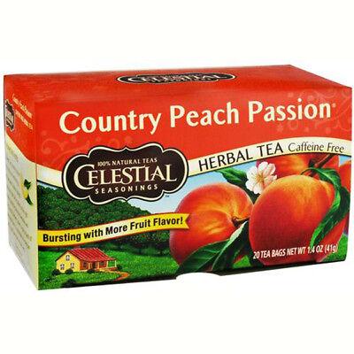Celestial Seasonings - Country Peach Passion Herb Tea - 20 Tea - Country Peach Passion Herb Tea