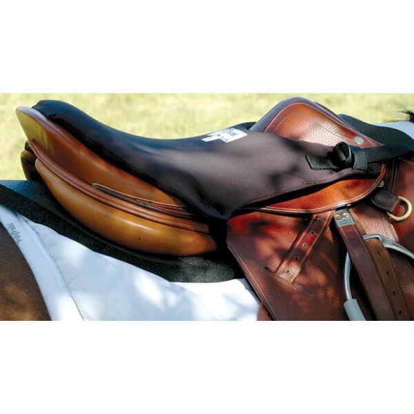"CASHEL English Saddle TUSH CUSHION Trail Riding padded Seat Pad 1/2"" thick"