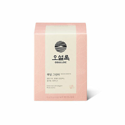Osulloc Wedding green tea  10 bags (1.5g x 10 bags)