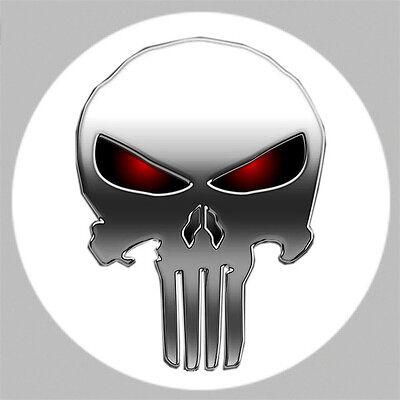 GOLF /The Punisher Skull  Logo Golf Ball Marker w/ Magnetic Hat Clip! New!!