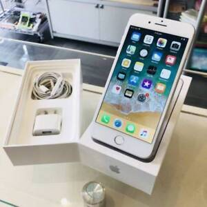EXCELLENT IPHONE 7 PLUS 32GB SILVER BOX ACCESSORIES WRTY INVOICE Surfers Paradise Gold Coast City Preview