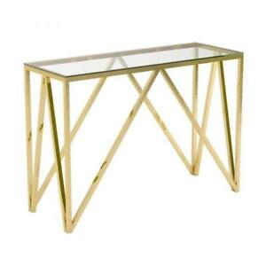 CONSOLE TABLE - MODERN STYLE CONSOLE ON SALE - MIRROR AVAILABLE (BD-843)
