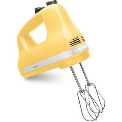 New MAJESTIC YELLOW KitchenAid Ultra Power 5-Speed Hand Mixer - Model KHM512MY