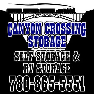 RV Storage & Self Storage Units For Rent - Hinton, Alberta