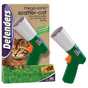STV MEGA SONIC CAT DOG SQUIRREL ANIMAL SCATTER GUN REPELLER