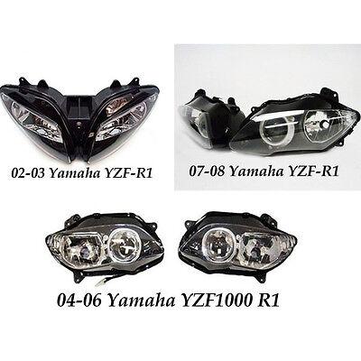 wholesale lots 15pcs Headlights For Yamaha YZF R1 02-08 YZF-R1 02-03 04-06 07-08