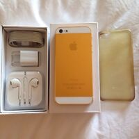 ✨iPhone 5 - Custom / Aztec Gold -16GB -Factory Unlocked ✨