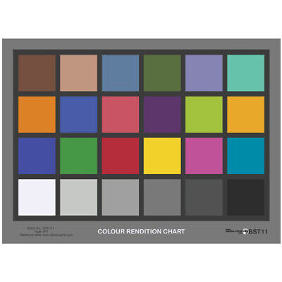 Tiffen DANES-PICTA BST11 Colour Rendition Check Chart