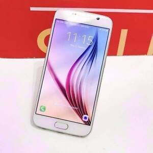 SAMSUNG GALAXY S6 64GB WHITE WITH WARRANTY AND ACCESSORIES Surfers Paradise Gold Coast City Preview